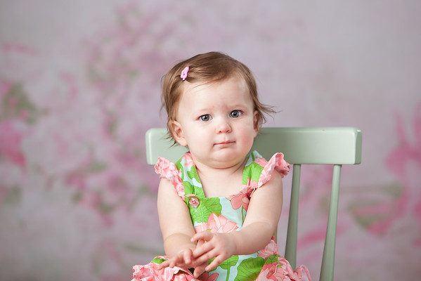 Amelia at one year