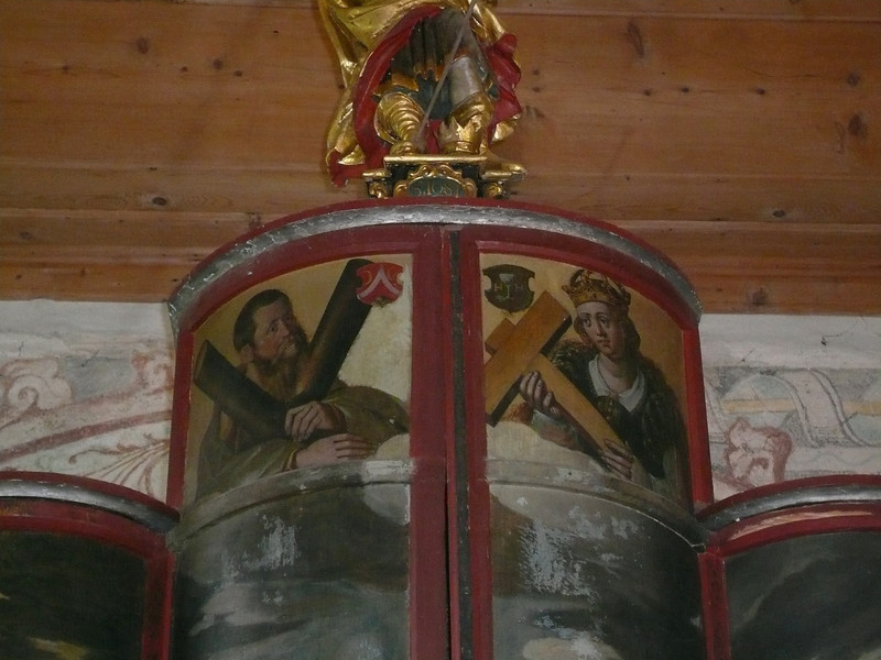St. Josten_Hegner Altar_Werktagsseite_Andreas und Helena