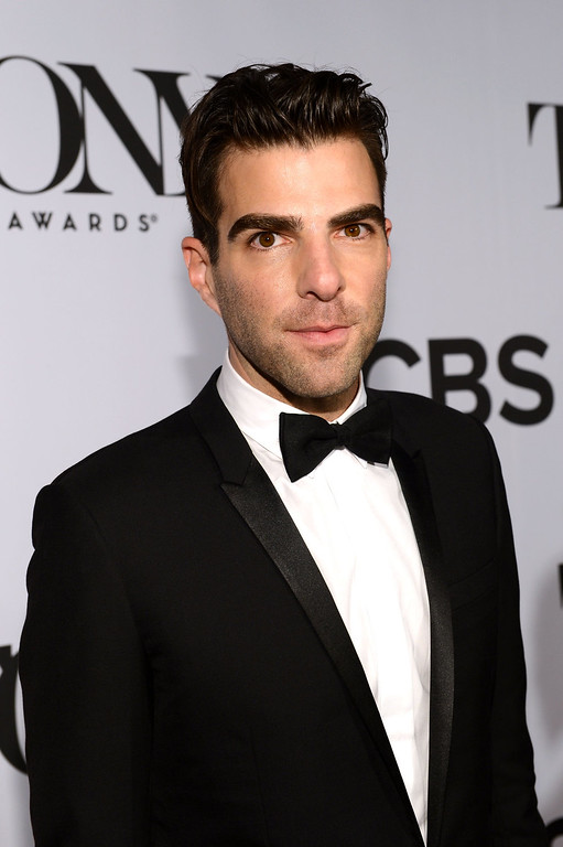 . Actor Zachary Quinto attends The 67th Annual Tony Awards at Radio City Music Hall on June 9, 2013 in New York City.  (Photo by Larry Busacca/Getty Images for Tony Awards Productions)