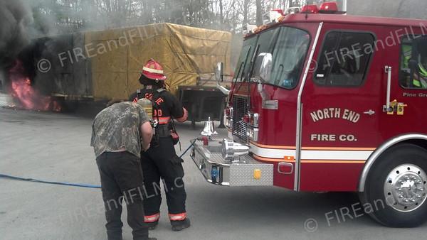 Schuylkill County - Pine Grove Twp. - TT Fire - 03/29/2013
