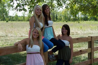 Ally, Jenna, Madison, Savannah