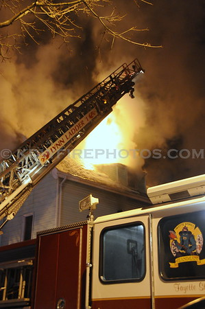 Lynn, MA - 2nd Alarm - 185 Williams Ave - 1/26/09