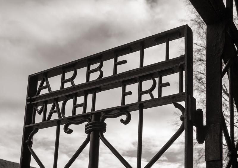 """Arbeit Macht Frei"", ""Work Sets You Free"""