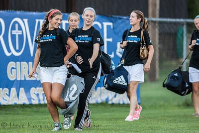 2012 PHS Girls Soccer vs N. Oldham
