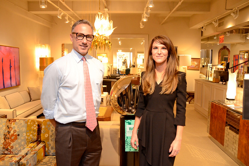 """New York, New York - September 22, 2016: """"What's New, What's Next"""" annual event featuring the opening launch party for Lobel Modern at the New York Design Center, 200 Lexington Avenue, Suite 915, on September 22, 2016 in Manhattan, New York. Photo by Lukas Maverick Greyson © 2016 LMG"""