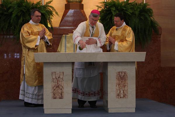 St. Charles Borromeo Altar Dedication - 2008