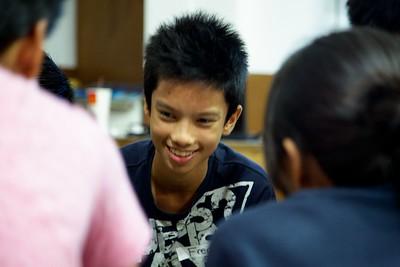 Aguhon Leadership Expedition Seminar for Grade 8 2013