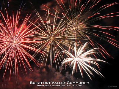 Boistfort Valley Community - Thank You Celebration