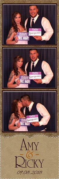 2018-09-08 Twin Lakes wedding photo booth Birchwood, WI