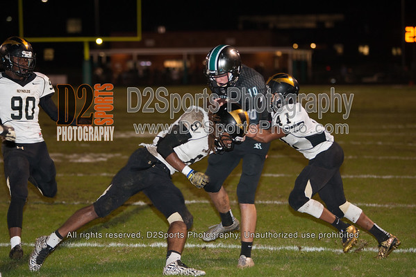 Reagan Raiders vs RJ Reynolds Demons Varsity Football 11/6/2015