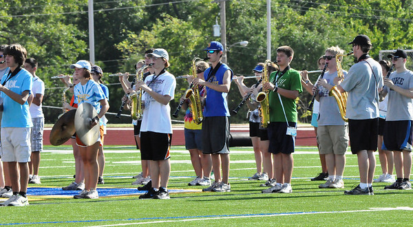 Marching Band Camp August 8th, 2011