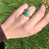 Vintage Bypass Gemstone Ring 3