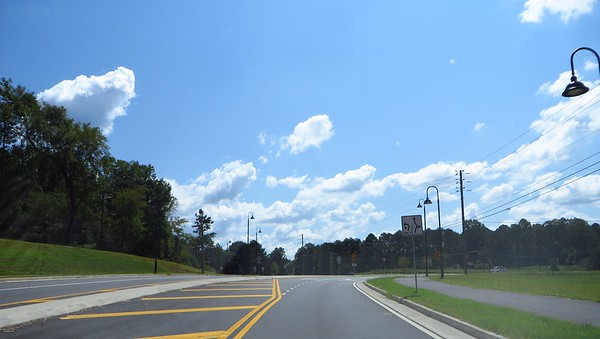 Roundabout On Providence Rd Milton