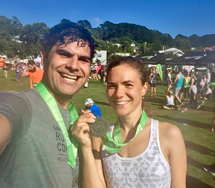 Graham done with his sub-2h half marathon!