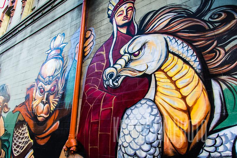 Chinatown Street Art