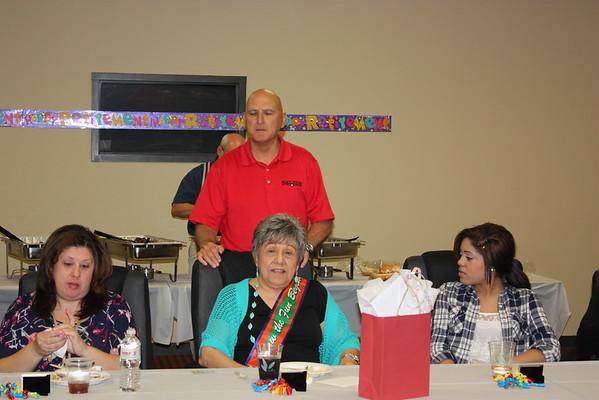 Virginia Bates Retirement Party