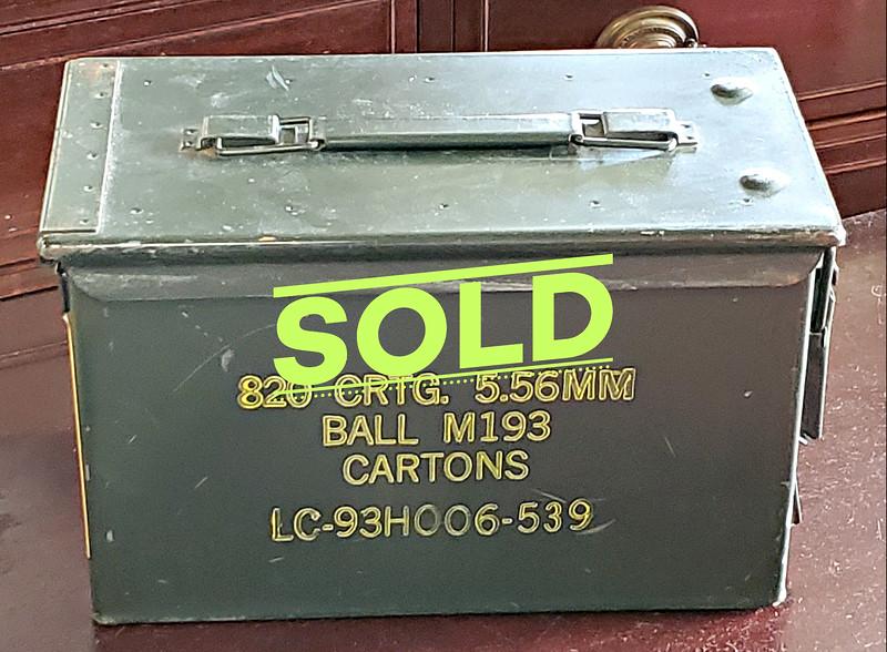 Military Ammunition Box
