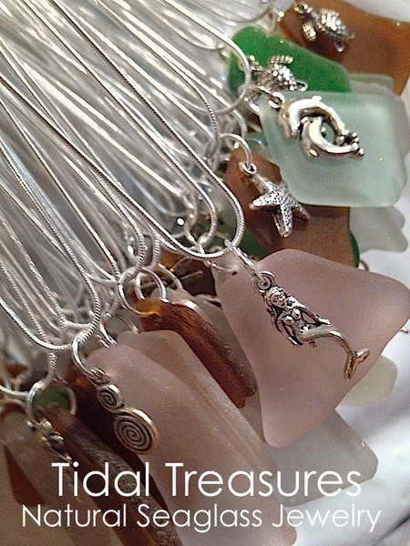 Tidal Treasures Natural Seaglass Jewelry by Aimee K. Wiles Banion