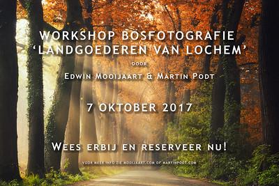 2017-10-07 Workshop bosfotografie (Dutch)