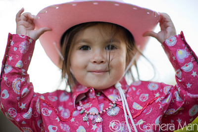 Maddie the Cowgirl - Sep. 2007