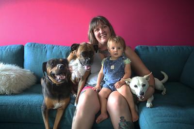 Katie Dogs + Family Mini