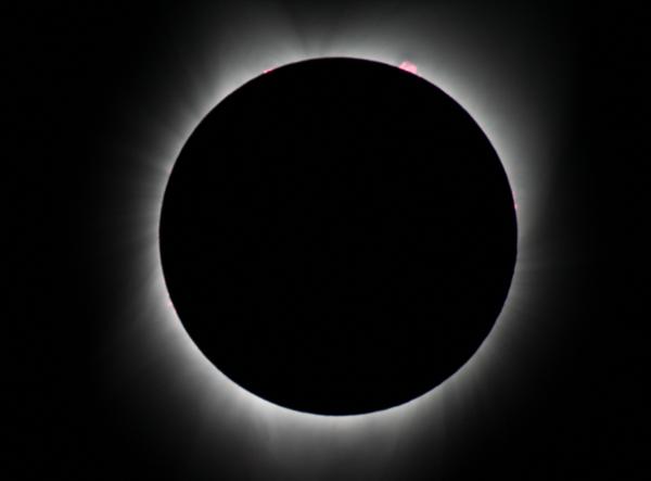 Solar Eclipse of 2017 -  Salem Oregon