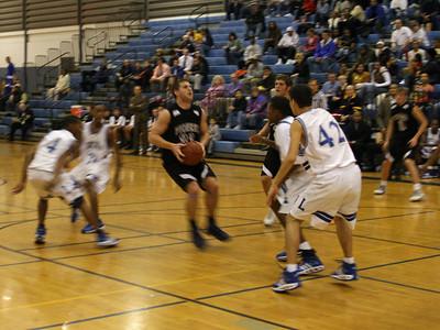 Pioneer at Lincoln basketball 2007