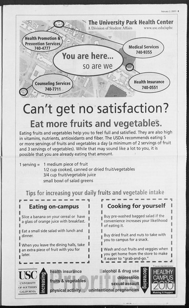 Daily Trojan, Vol. 154, No. 15, February 02, 2005