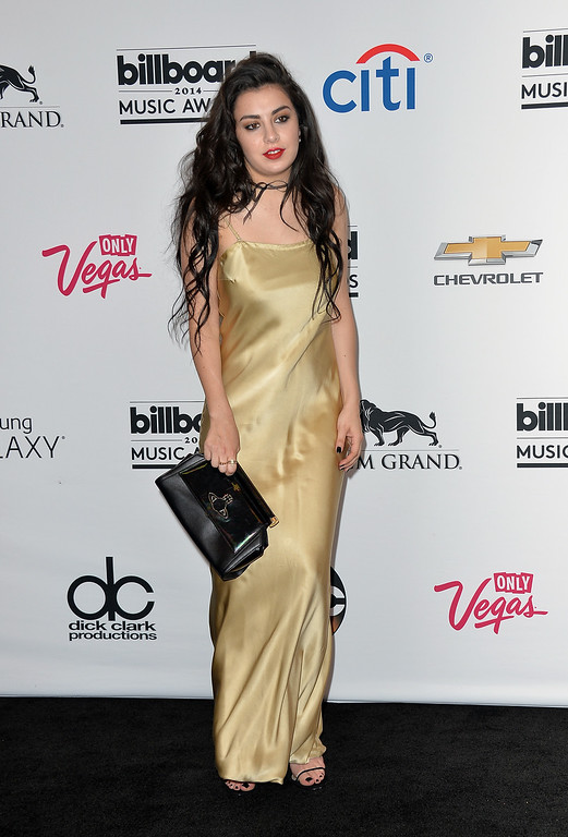 . Singer Charli XCX poses in the press room during the 2014 Billboard Music Awards at the MGM Grand Garden Arena on May 18, 2014 in Las Vegas, Nevada.  (Photo by Frazer Harrison/Getty Images)