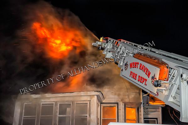 2nd alarm West Haven 24-26 Richards Pl.