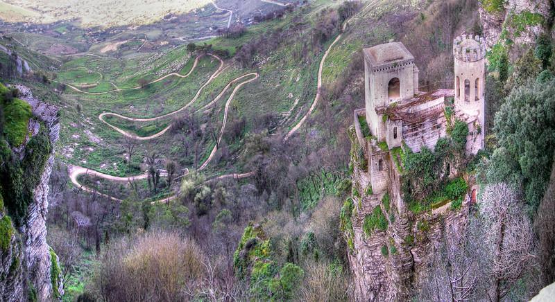 Sinuous succession in Sicilia