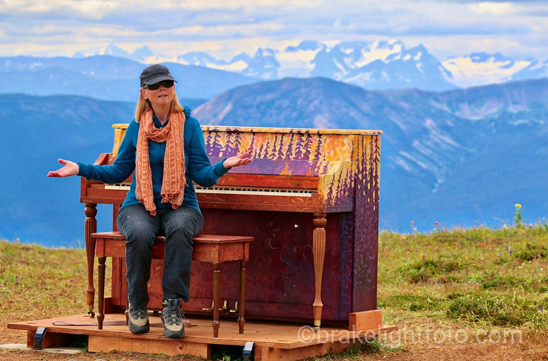 Piano on Hudson Bay Mountain