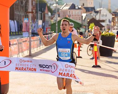 Bergen City Marathon, 28. August 2021