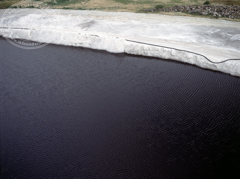 "Landskrona harbour, ""Gypsum mountain"" (1990) | PH.0041"