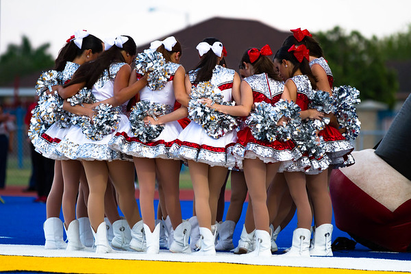 September 22, 2017 - Football - Sharyland vs Valley View - Band Cheer Dance_GU
