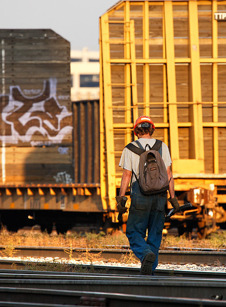 Canadian Pacific Worker - Muskego Yard