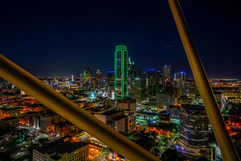 From the Reunion Tower Observation deck 4