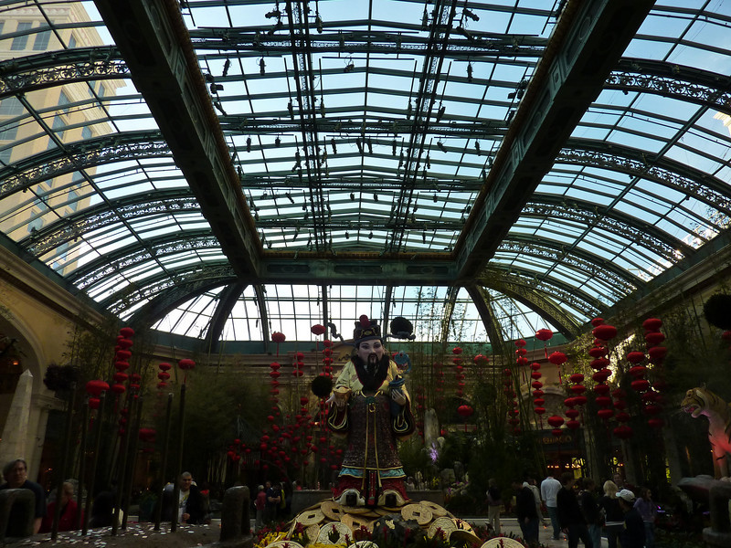 The Las Vegas Conservatory & Botanical Gardens, celebrating Chinese New Year