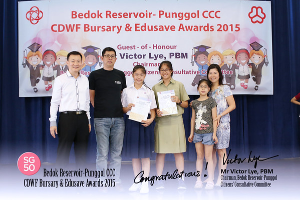 CDWF Bursary & Edusave Awards 10-1-2015 Morning
