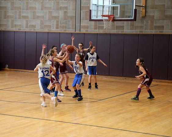 3-11-18 9U Girls BB vs. Ridgewood