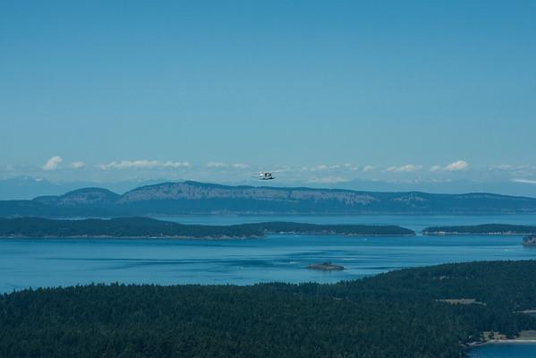 San Juan Islands Aerial Tour 07-2012