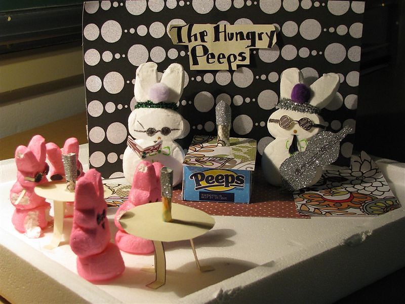. The Peep Generation by Troy Lino and Ashley Vevarino, both 16 years old.