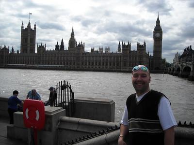 2009-07-12 Gerco en Bart naar Londen