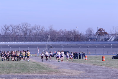 D3 Boys' at 400M Section 2 - 2020 MHSAA LP XC