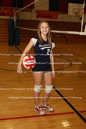 Wimberley Danforth 8th Grade Volleyball