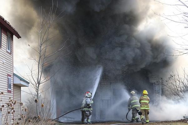 11/20/2020 BARN FIRE ON 11C BRASHER FALLS