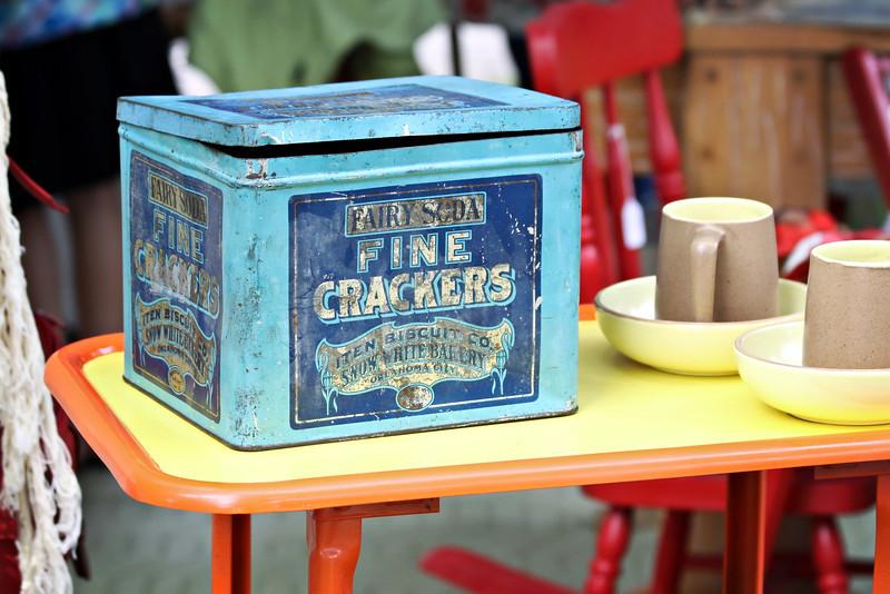 Fairy Soda Cracker Tin