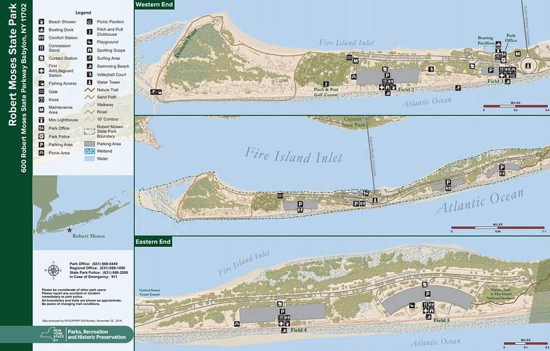 Robert Moses State Park - Long Island