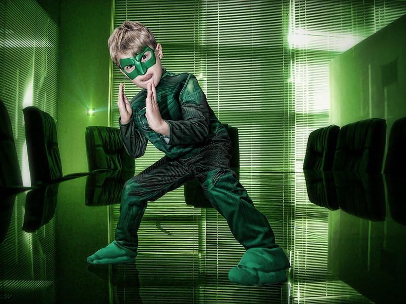 Karate Green Lantern