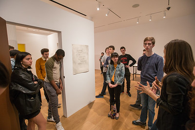 Latin Students Visit the Drawing Center | February 21-22, 2017